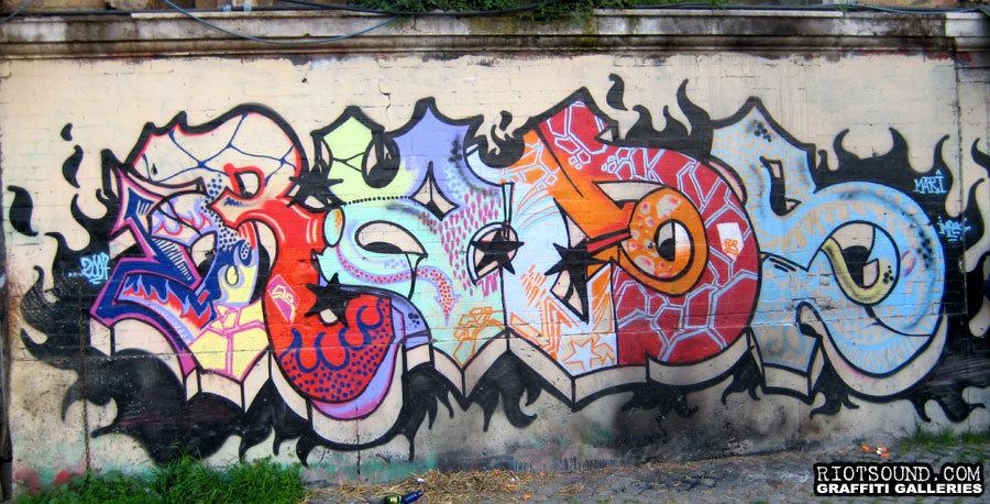 Italiano Graffiti Arte