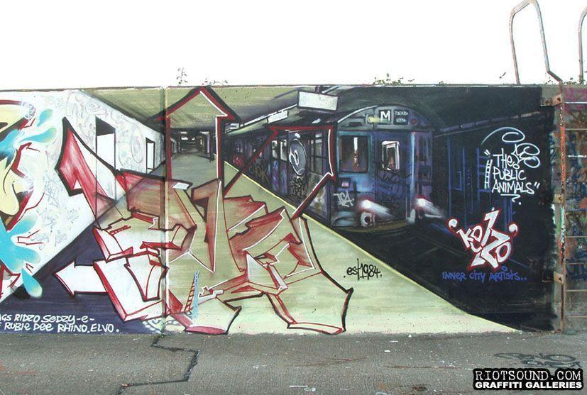 Kelzo Graffiti
