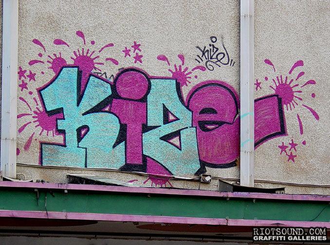 Kize Graffiti Israel