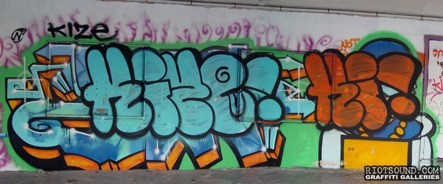 Kize Graffiti Tel Aviv