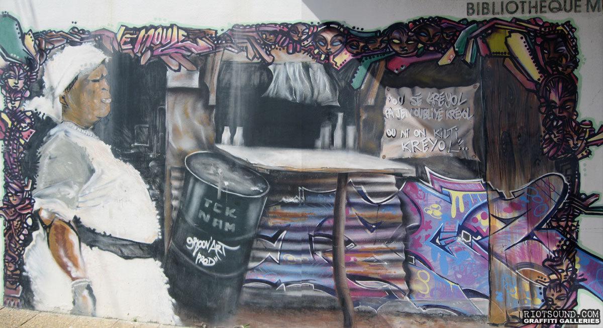 Kreyol Street Art Grenada