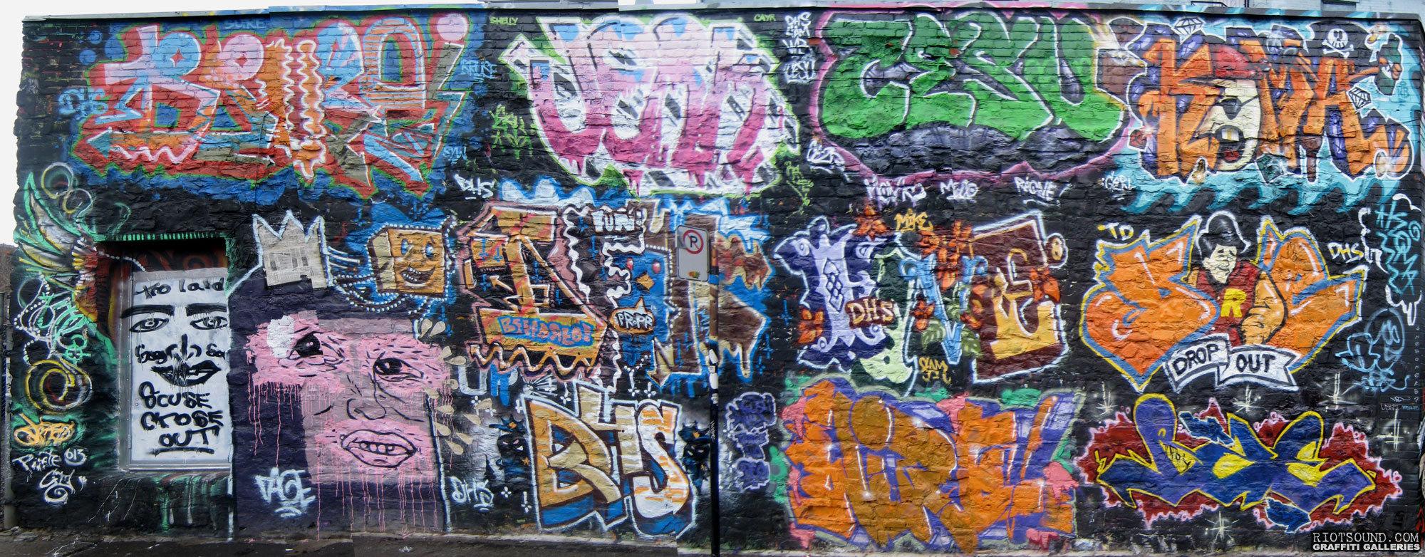 Legal Graffiti Wall