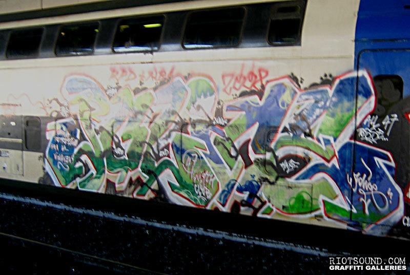 Metro Train Burner