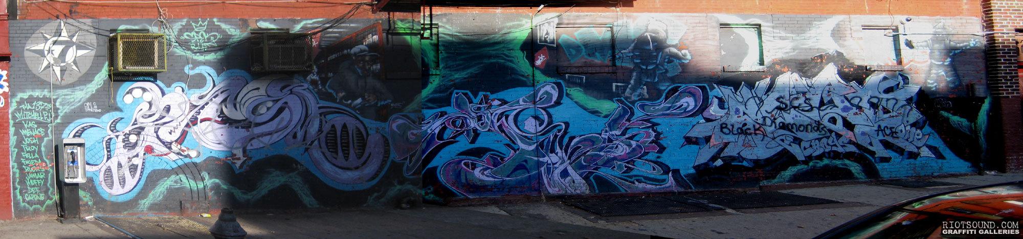 Mitchell Projects Bronx Graffiti