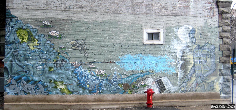 Montreal Urban Mural