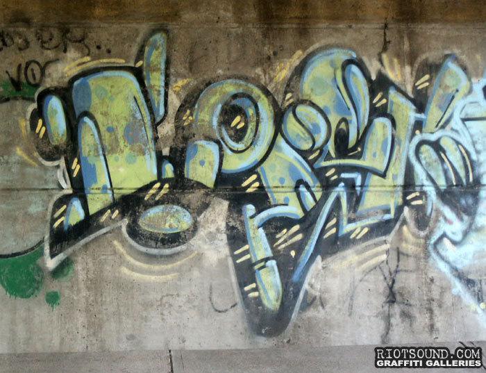 NJ Roadside Graff Piece