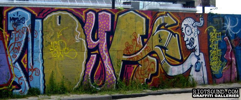 NOYA Graffiti Amsterdam