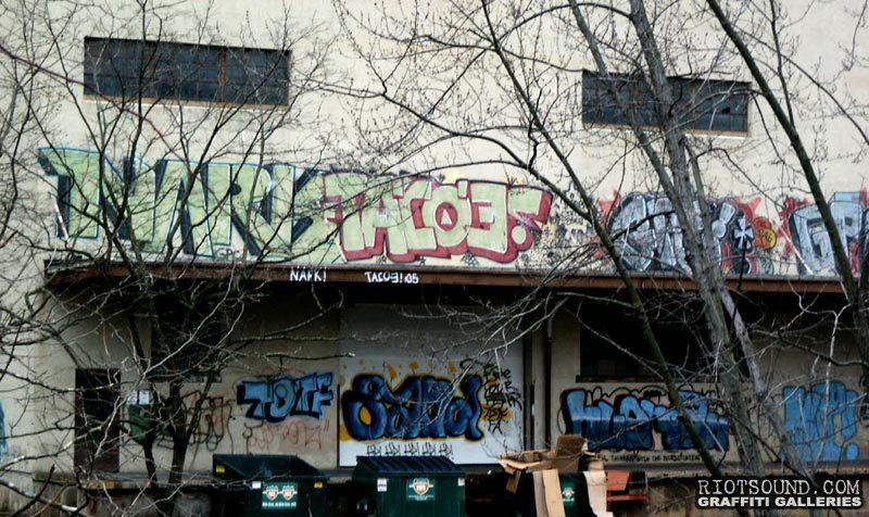 New Jersey Graffiti Wall