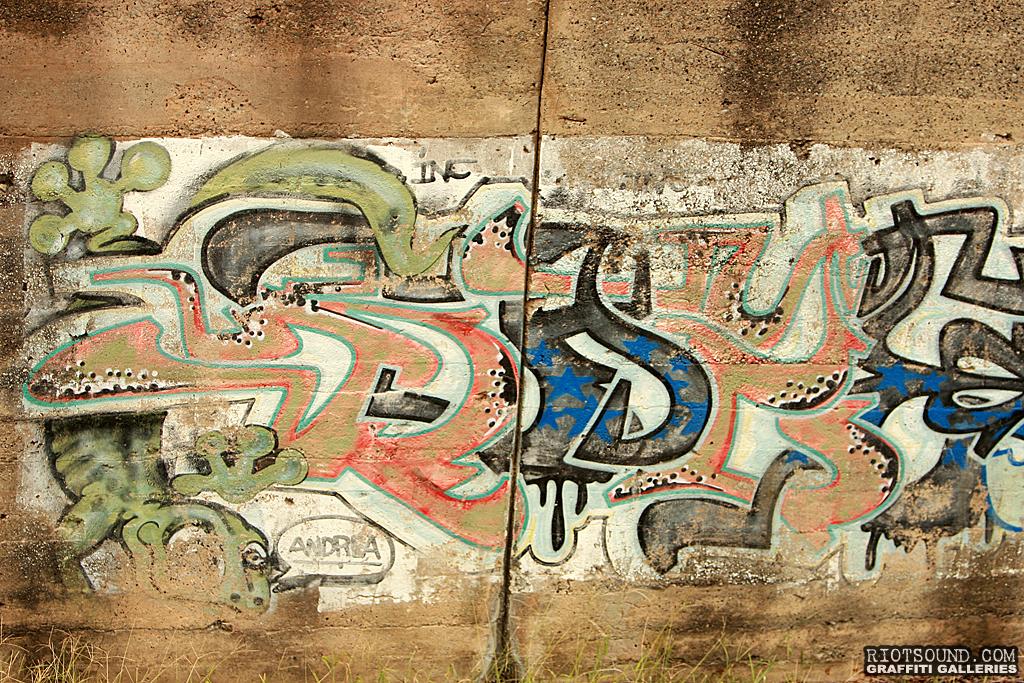 Old Graffiti Art
