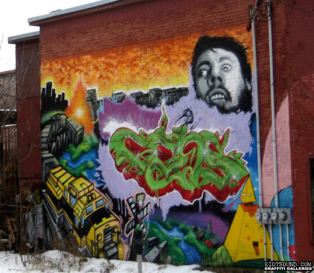 Ottawa Graffiti Mural