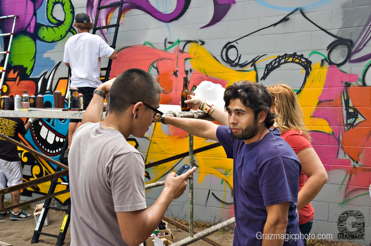 Outdoor Graffiti Painters