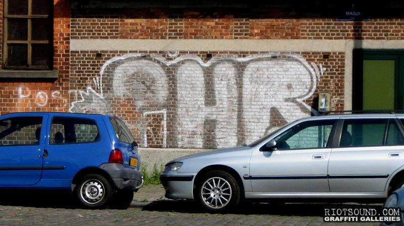 PHR Bruxelles Graffiti