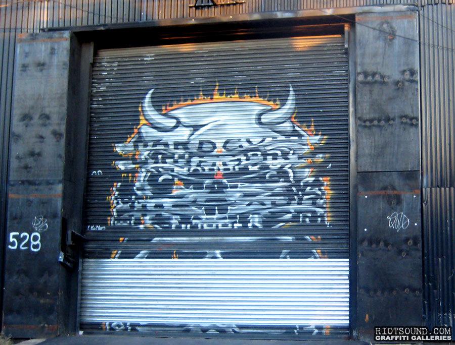 Painting On Garage Door