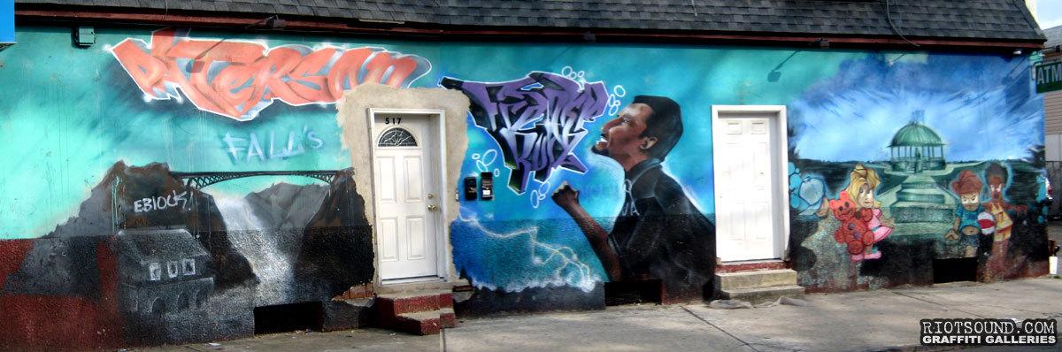 Paterson Graffiti Mural