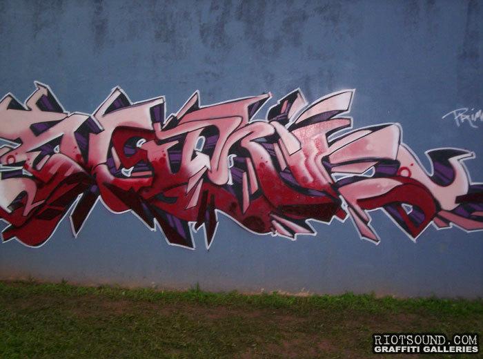 Puerto Rico Wildstyle Graff