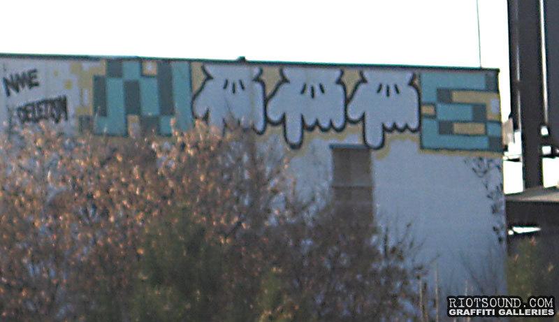 Rooftop Street Art Montreal