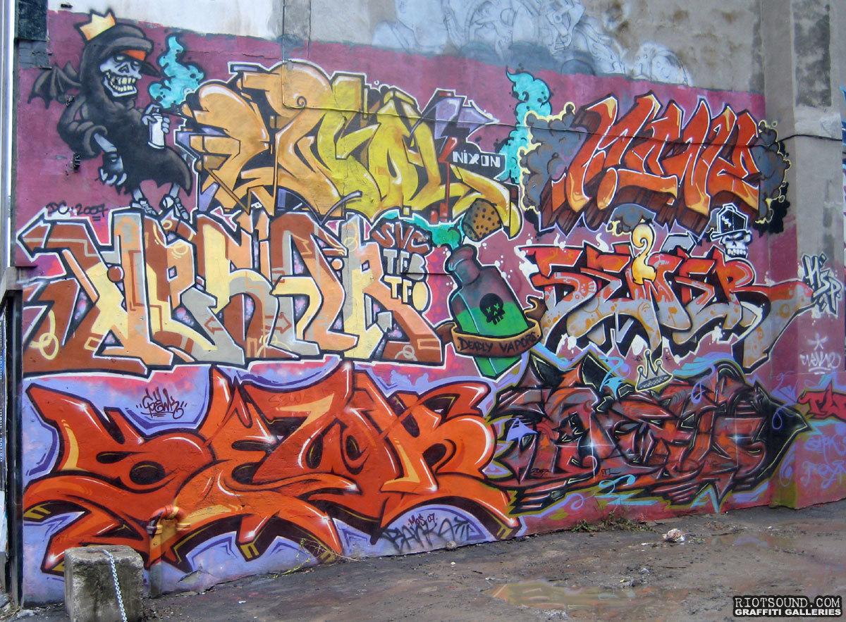 SEWK Graffiti Art