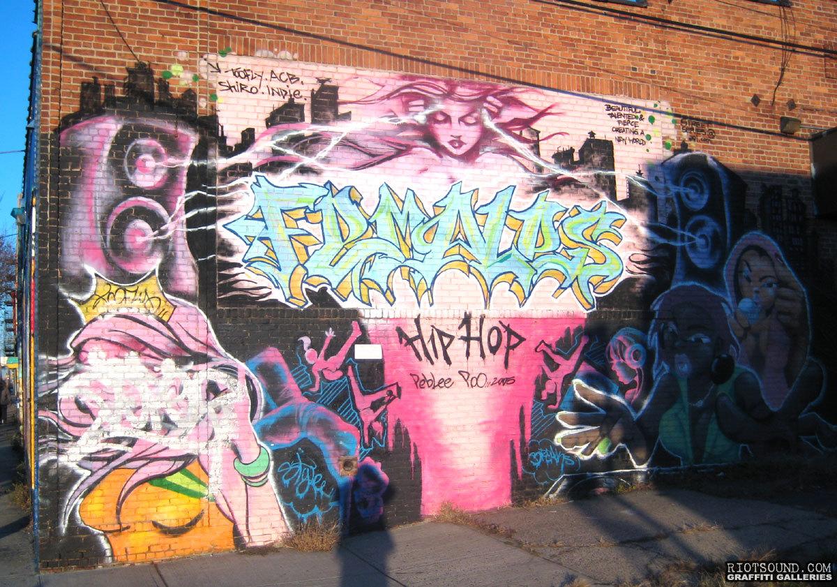 SHIRO Graffiti Art