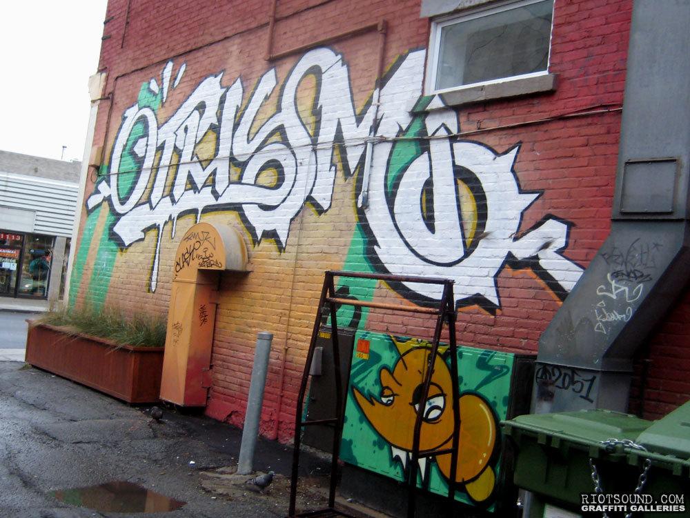 Side Alley Mural