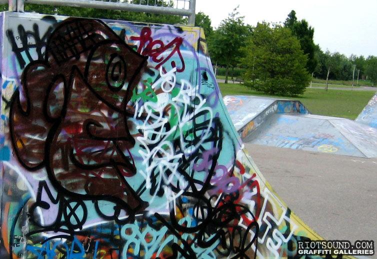 Skateboard Park Graffiti