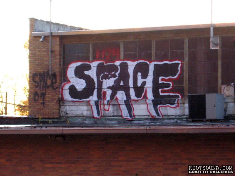 Space Graffiti Artist