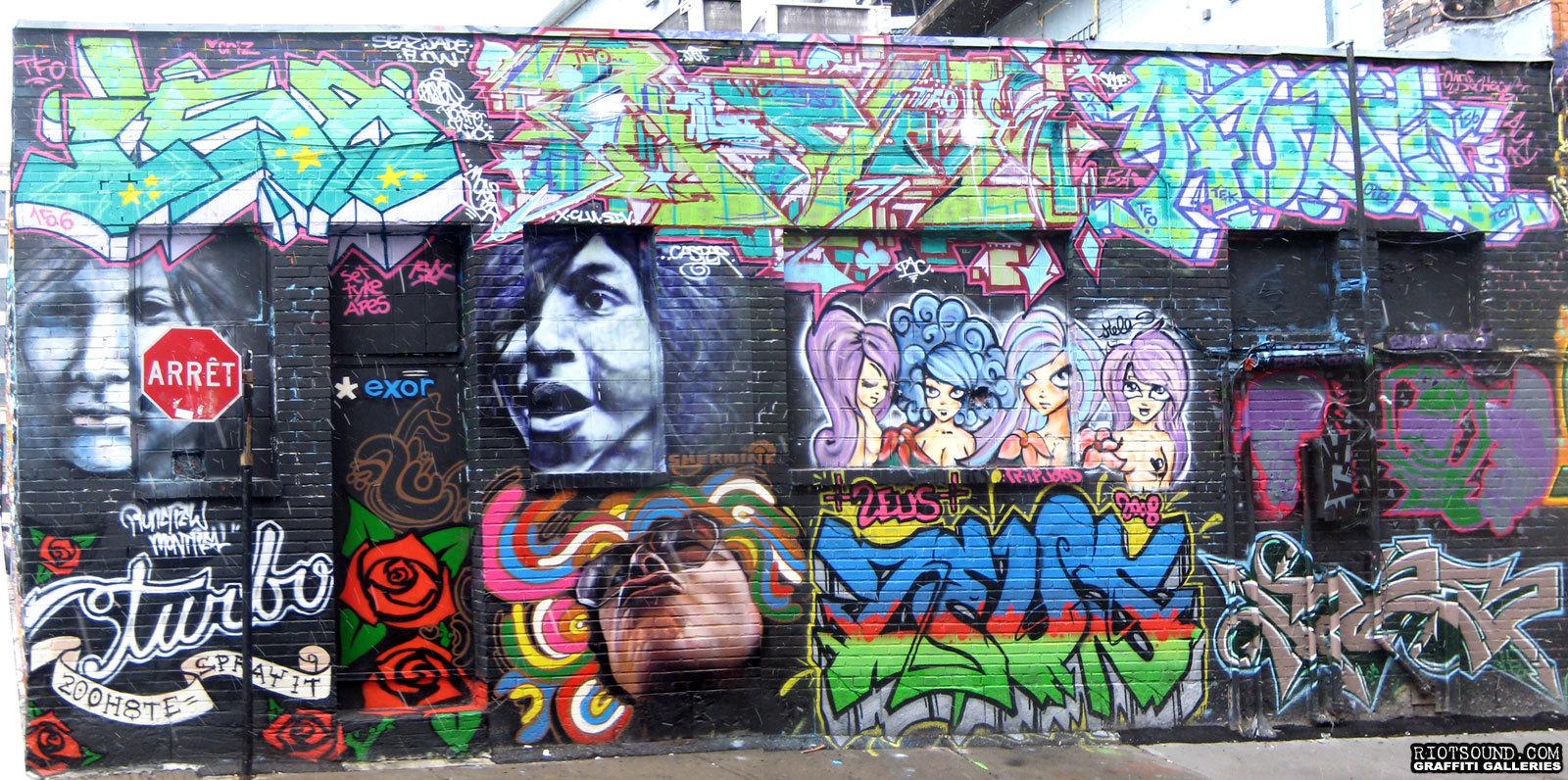 Spray Paint Art Montreal