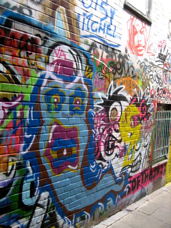 Spray Paint Wall