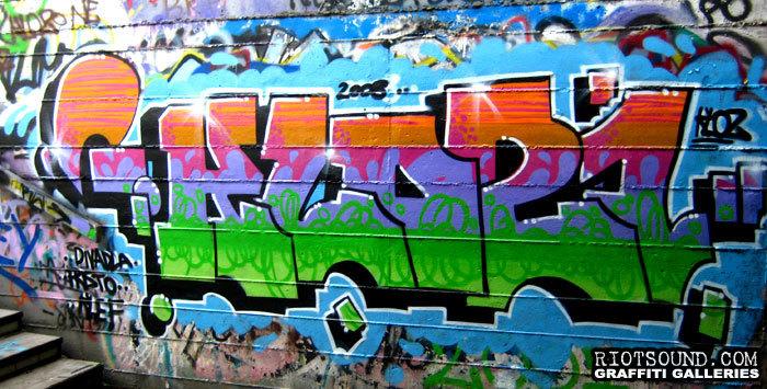 Stairwell Graffiti Burner