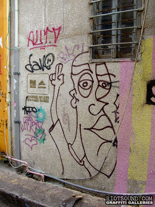 Street Art Character 1