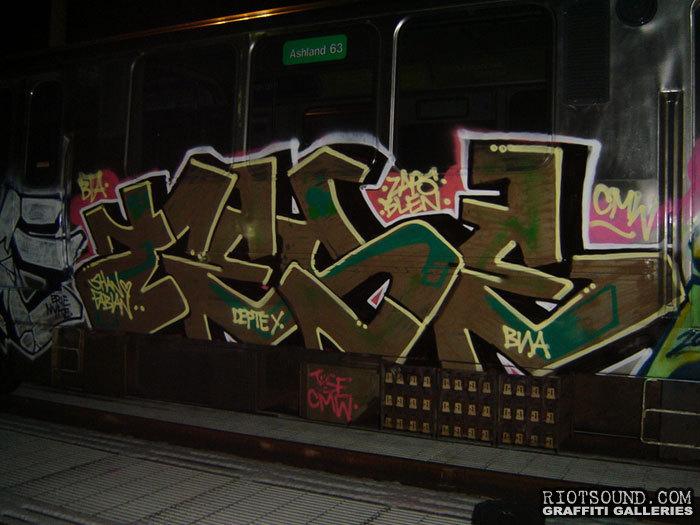 Subway Art by TESE