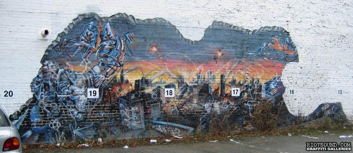 Surrealistic Mural