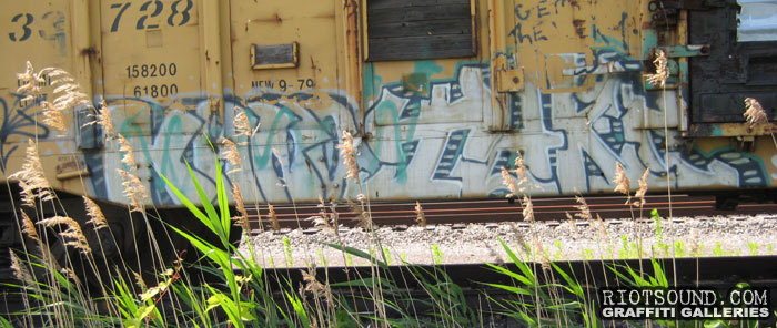 Train Graff Piece
