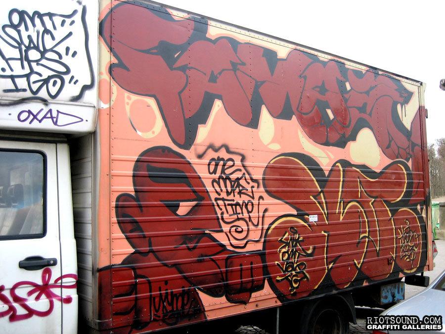 Truck Graffiti France