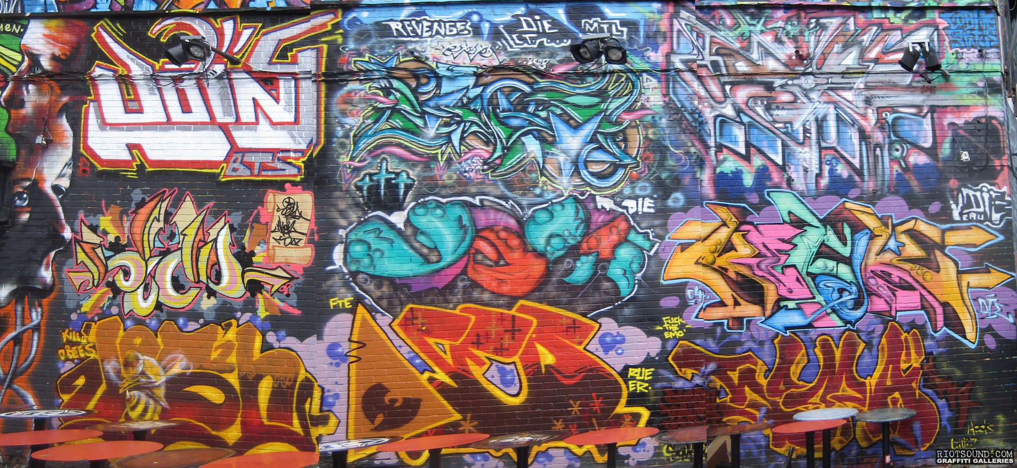 Urban Art Wall Montreal