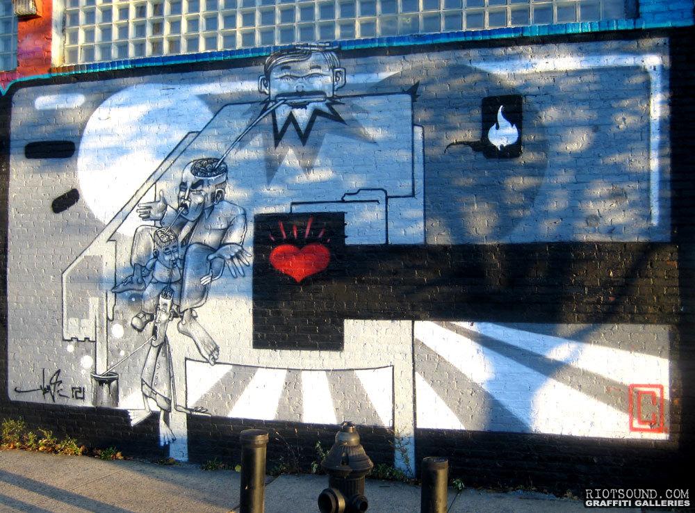 Urban Artwork Bronx New York