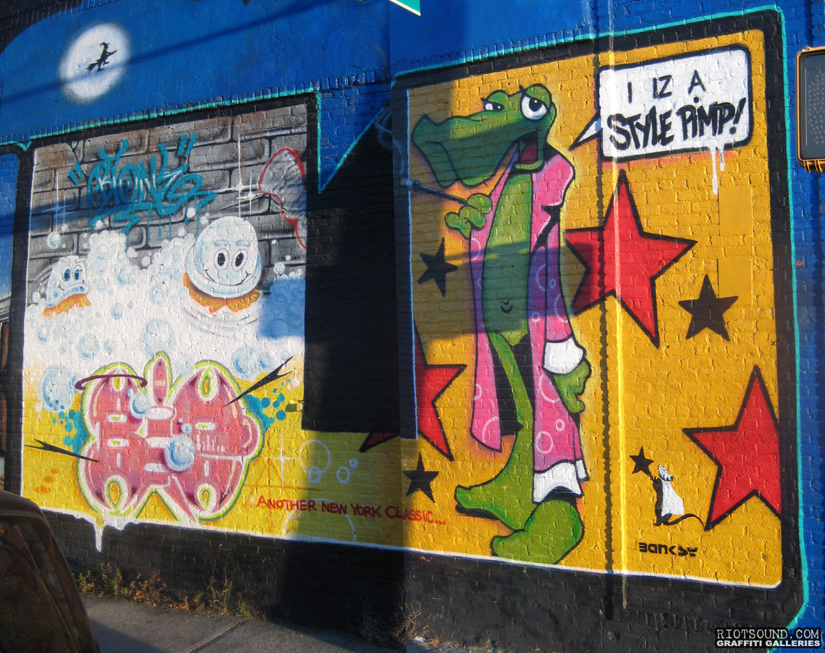 Vaughn Bode Graffiti Art
