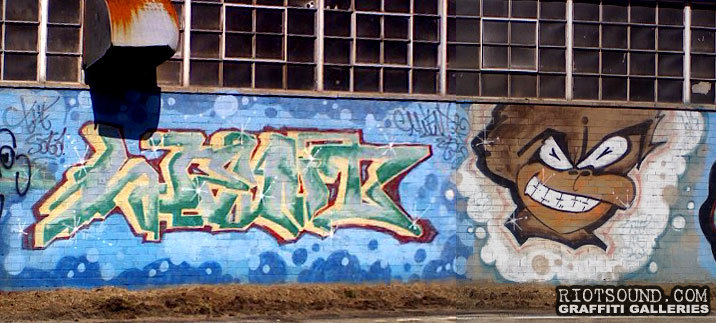 Warehouse Graffiti Burner