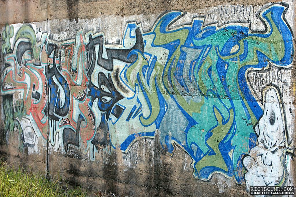 Weathered Graffiti