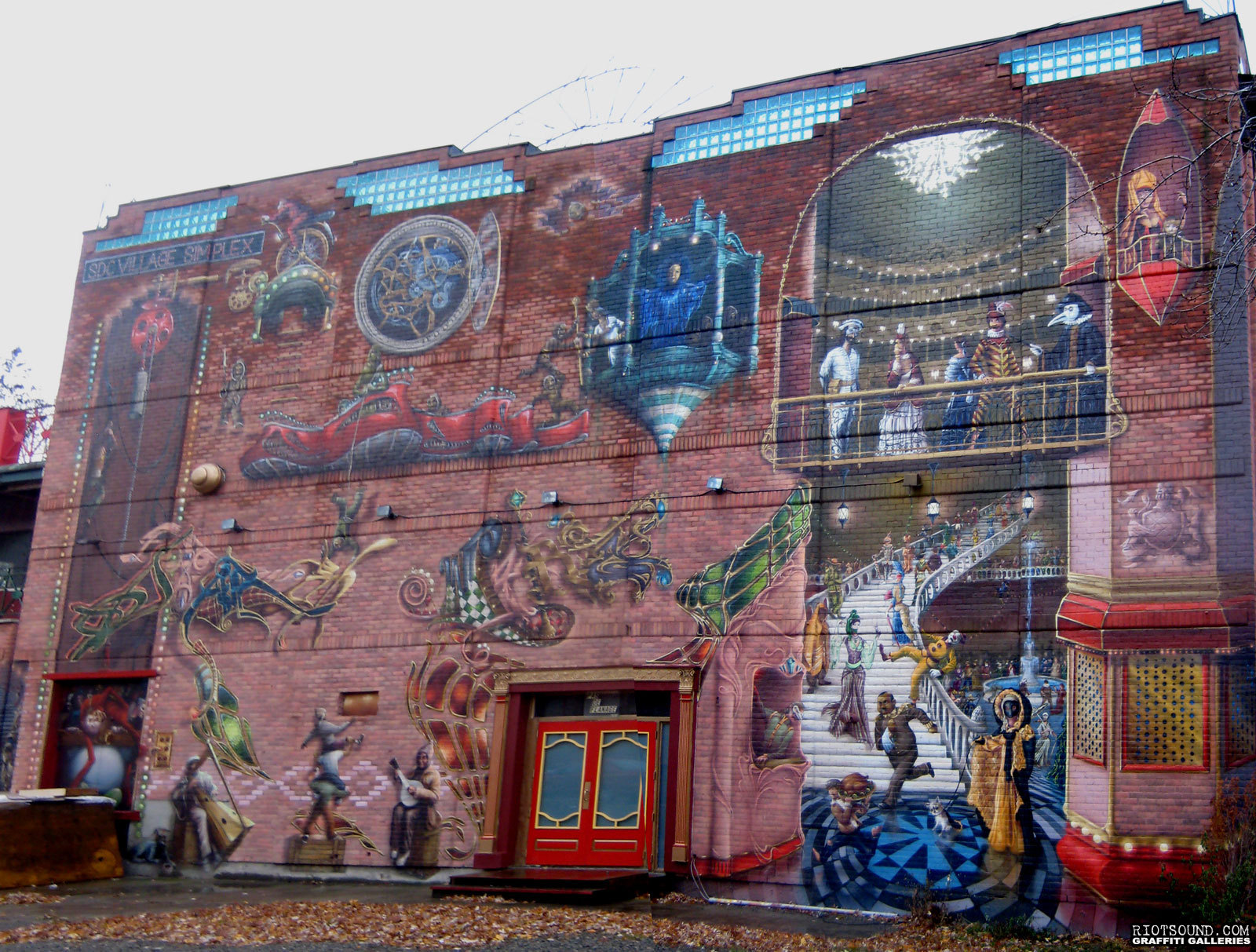 Whole Painted Building