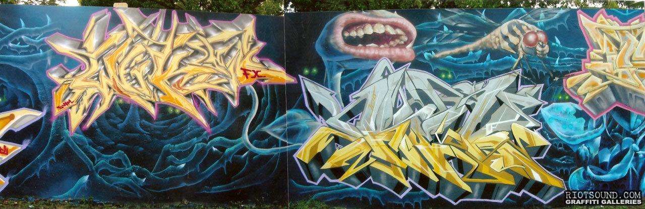 Wildstyle Mural