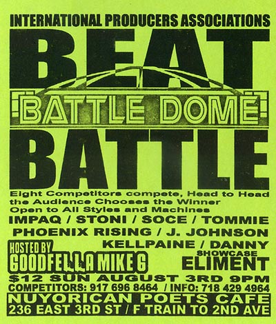 August9BattleDomeBeatBattle