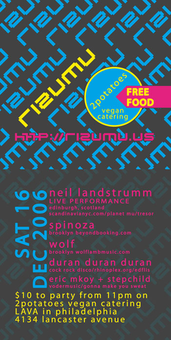 Neil Landstrumm DEC 2006