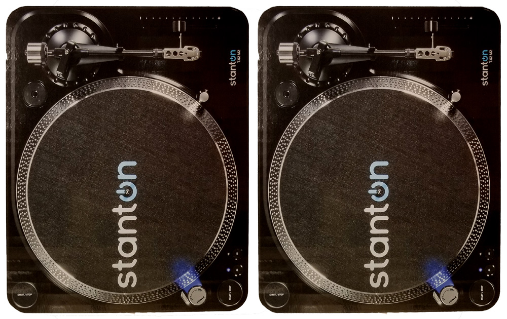 (2) Stanton T 62 M2 - Direct Drive Turntables